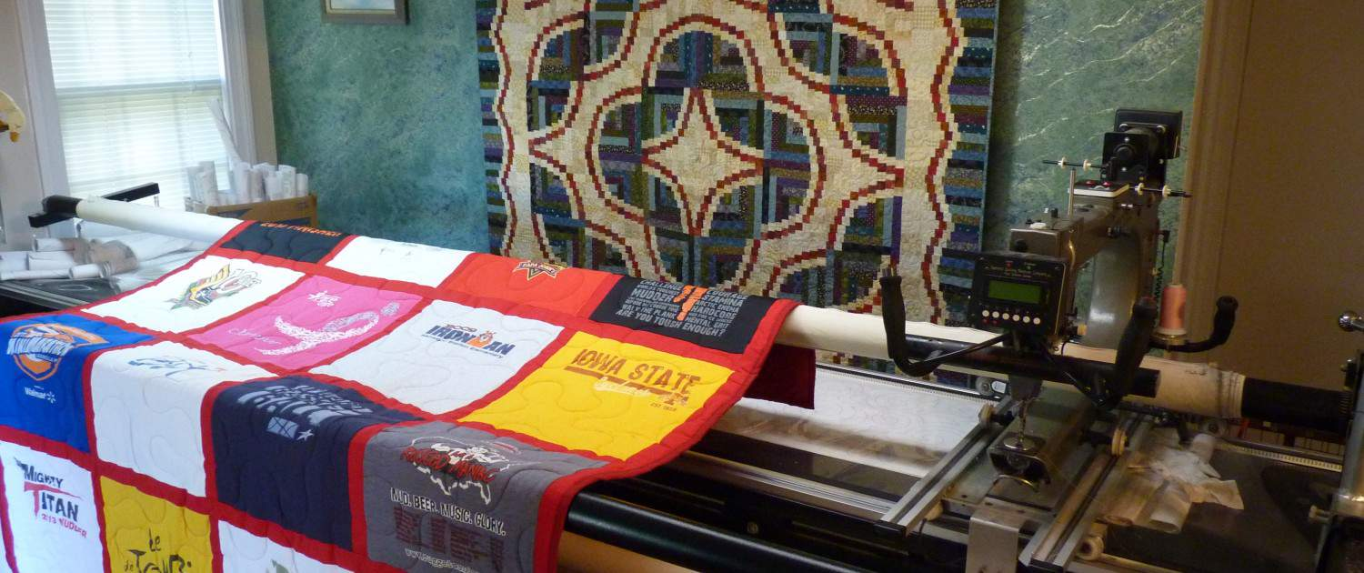 T-Shirt Quilts and Long Arm Quilting in Louisville Happy Dance Quilting