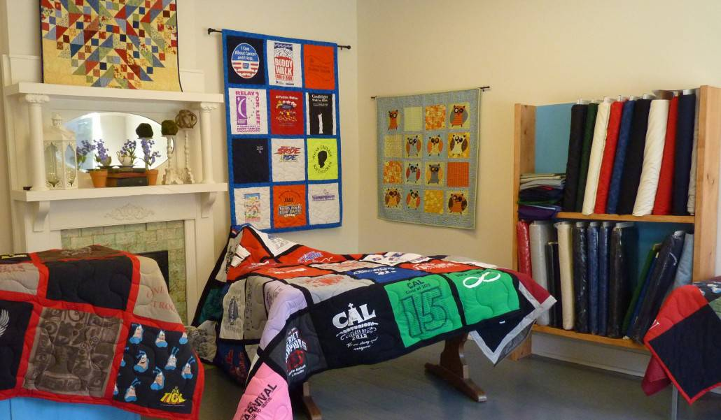 T-Shirt Quilts and Long Arm Quilting - Happy Dance Quilting