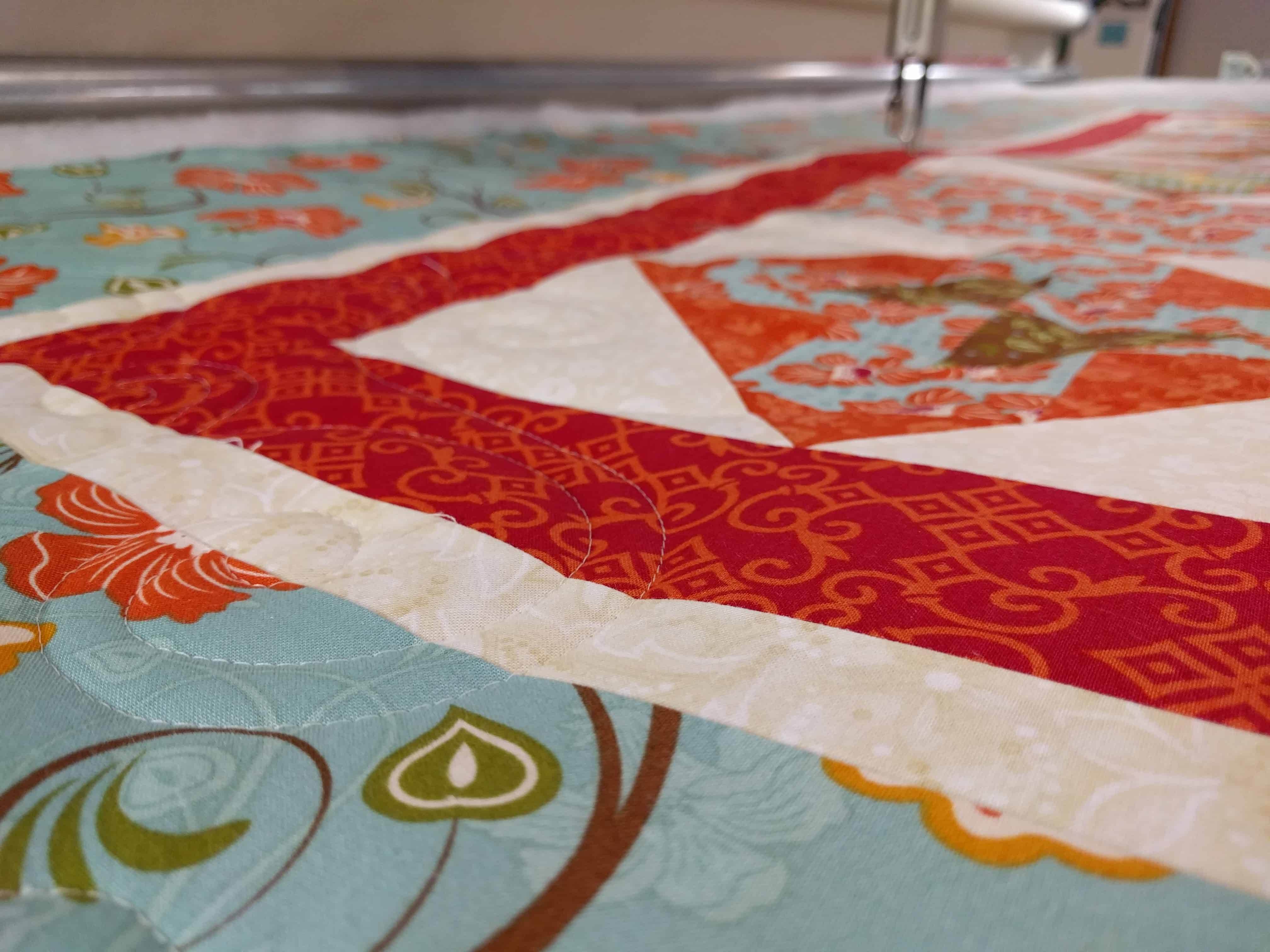 Longarm Quilting Pieced Quilt Top
