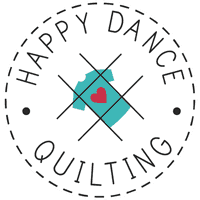 Happy Dance Quilting T-Shirt Quilt Makers and Longarm Quilt Top Finishers